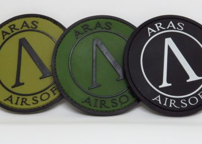 aras 2 pvc patches