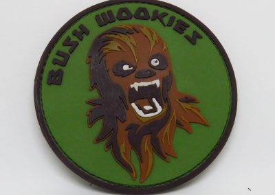 bush wookie 2 pvc patch