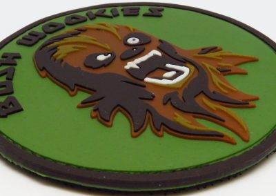 bush wookie pvc patch