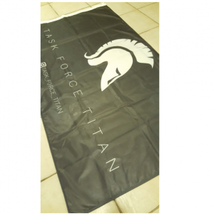 spartan custom flag