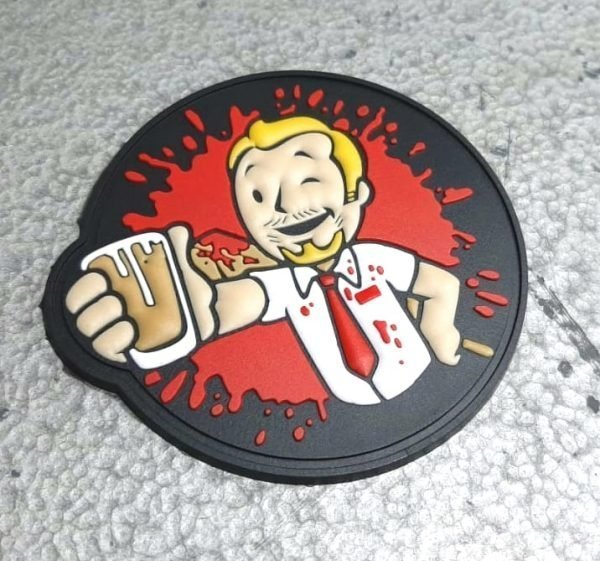 Shaun of the dead PVC patch