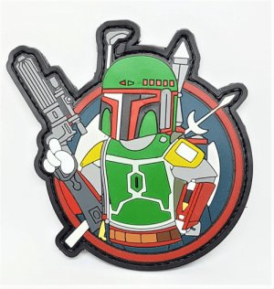 Boba Fett PVC patch