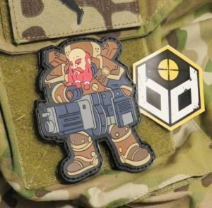 Dwarf PVC patch