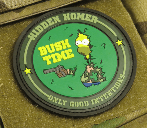 Homer Simpson – New PVC patch