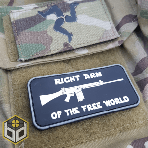 Right Arm FAL pvc patch