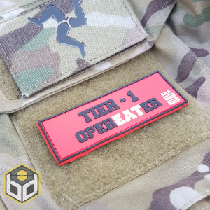 FAA Opereater PVC patch picture