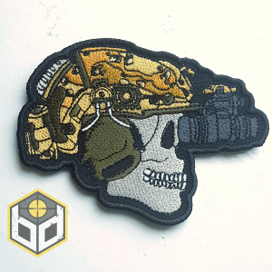 Bravo Embroidered patch