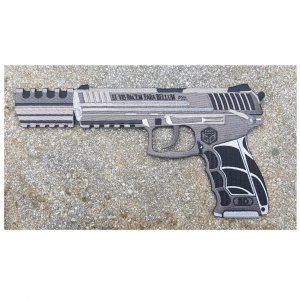 HK p30 embroidered patch