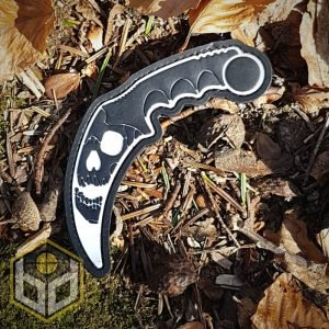 karambit PVC patch