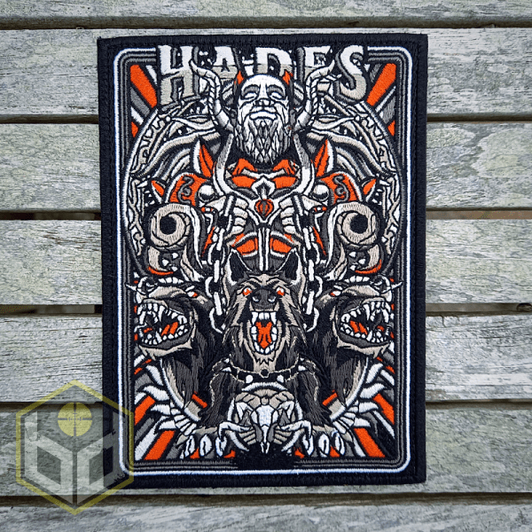 Hades embroidered patch