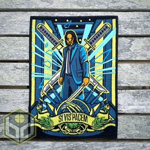 John Wick embroidered patch V3