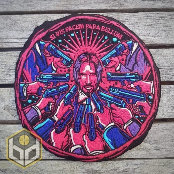 John Wick embroidered patch